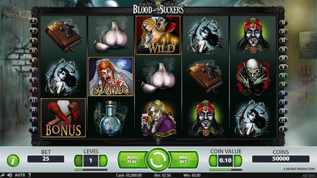 blood suckers スロット