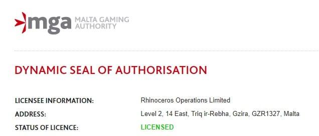 マルタゲームライセンス