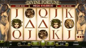 Divine Fortune スロット