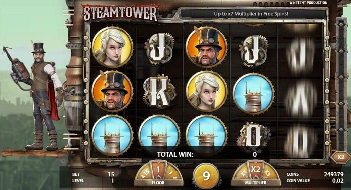 STEAM TOWER(スティームタワー) フリースピンラウンド