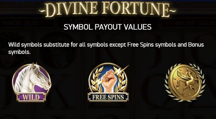 Divine Fortune シンボル