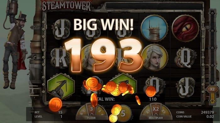 STEAM TOWER win