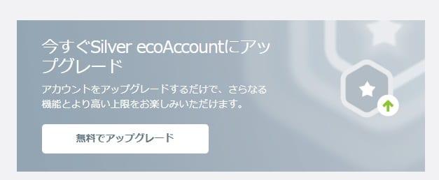 ecoPayz シルバーアカウント