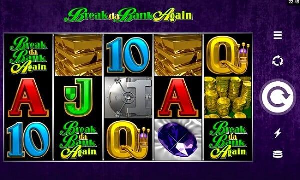 Break da bank again スロット