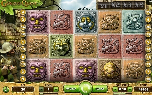 Gonzo's Quest スロット