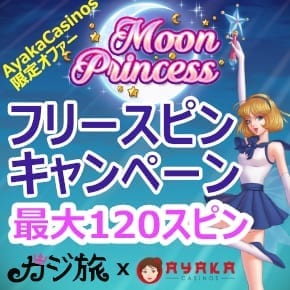 Moon Princess フリースピンキャンペーン