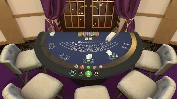 カジノシークレットのライブカジノ