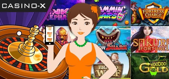 カジノエックス ゲーム