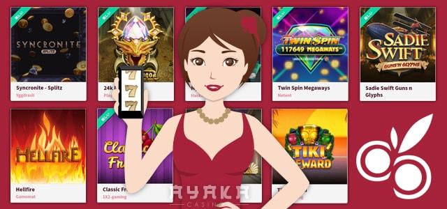 チェリーカジノのカジノゲーム ゲーム