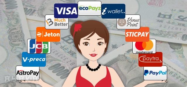 オンラインカジノの入金と出金方法